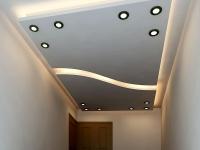 اجرای سقف کاذب کناف پروژه مسکونی خانم ذولفقاری