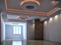 طراحی و اجرای سقف کاذب کناف پروژه مسکونی آقای مهندس ناطقی