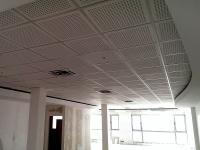 اجرای سقف کاذب مشبک کناف پروژه اداری آقای مهندس نقشینه
