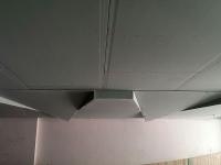 جرای سقف کاذب مشبک کناف پروژه اداری آقای مهندس نقشینه