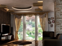 طراحی و اجرای سقف کاذب کناف ویلا شرکت نکاس پی